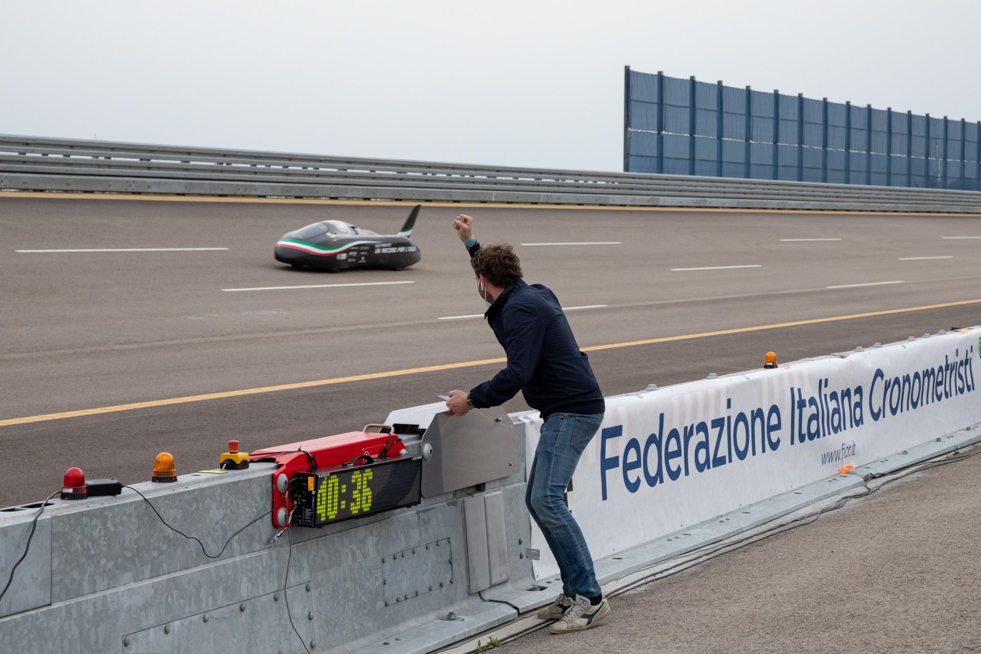 Blizz Primatist - prototipo elettrico per record di velocità. https://www.facebook.com/BlizzPrimatist _ Nardò tecnical center