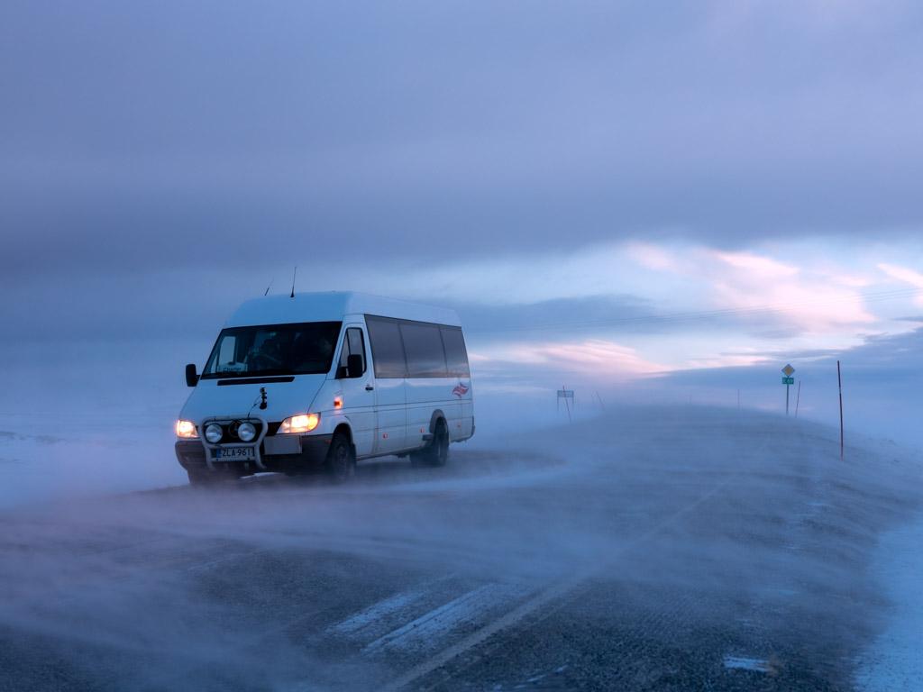 2020-Febbraio-Viaggio-Lapponia-Capo-Nord-Norvegia-Aurora-Alba-Mezzogiorno-Strada-CapoNord-1