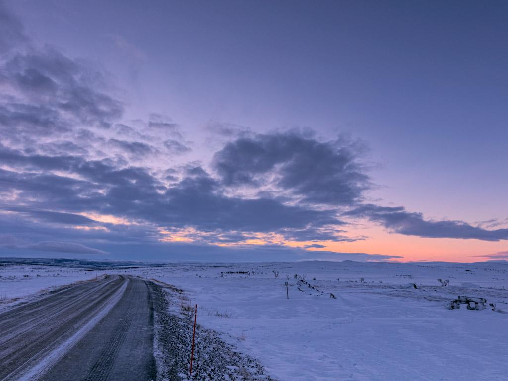2020-Febbraio-Viaggio-Lapponia-Capo-Nord-Norvegia-Aurora-Alba-Mezzogiorno-Strada-Nuorgam-1