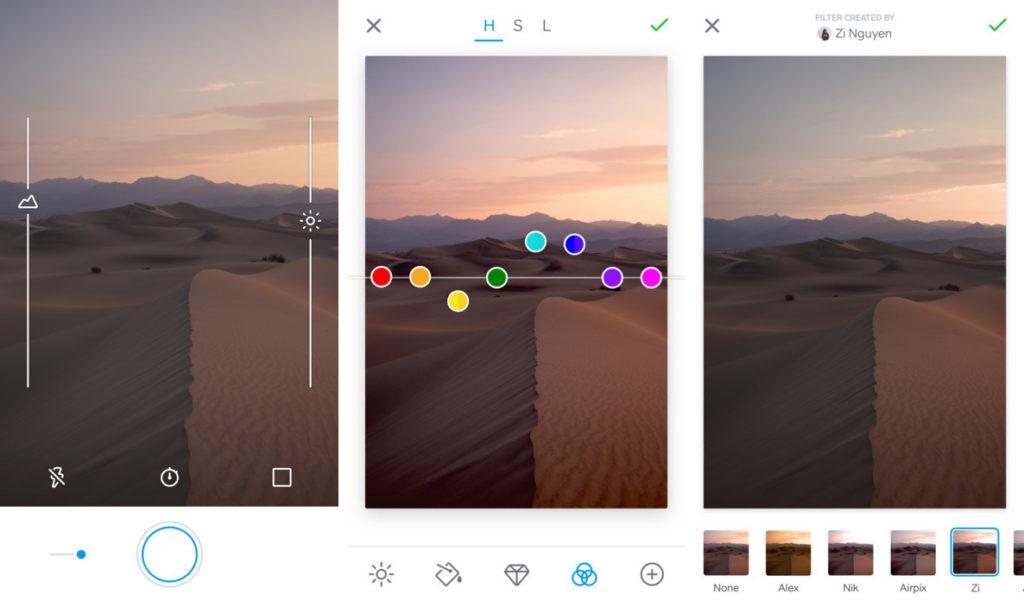 Pillole di Fotografia  500px-RAW-screenshots-1024x601 LightRoom sullo smartphone: Scattare in RAW