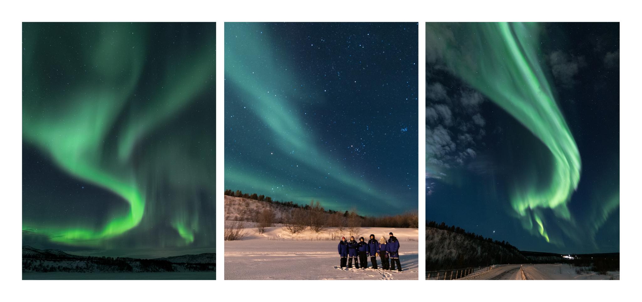 Viaggi di Gruppo  striscia-aurora [CONCLUSO] Autentico Natale in Lapponia: Da Venerdì 22 a Mercoledì 27 Dicembre 2017