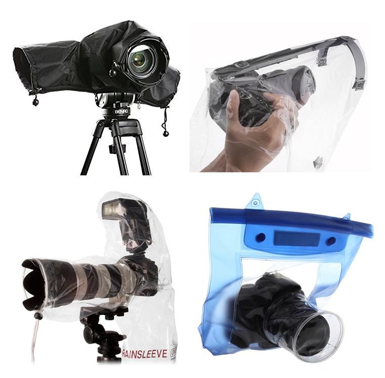 Pillole di Fotografia  Gambacciani_protezioni-anti-pioggia_2 Proteggere l'attrezzatura FOTOGRAFICA dall' ACQUA