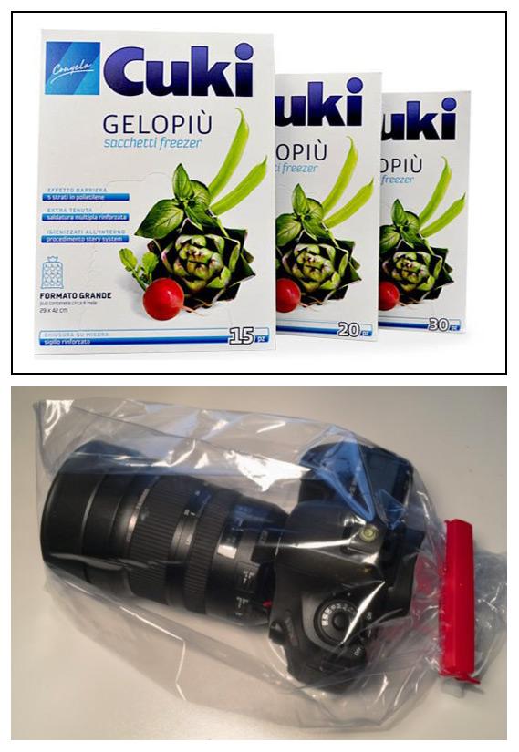 Pillole di Fotografia  reflex-in-sacchetto_2 Proteggere l'attrezzatura FOTOGRAFICA AL FREDDO