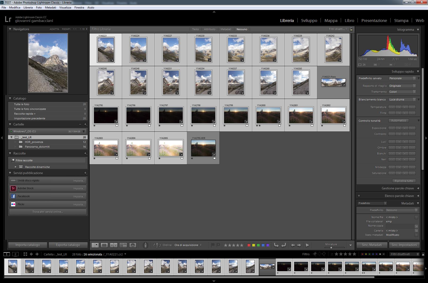 Pillole di Fotografia  LR7.1_Lenovo_ESPORT_LRschermata Nuovo LightRoom v7.2 ... Finalmente un pò di velocità!