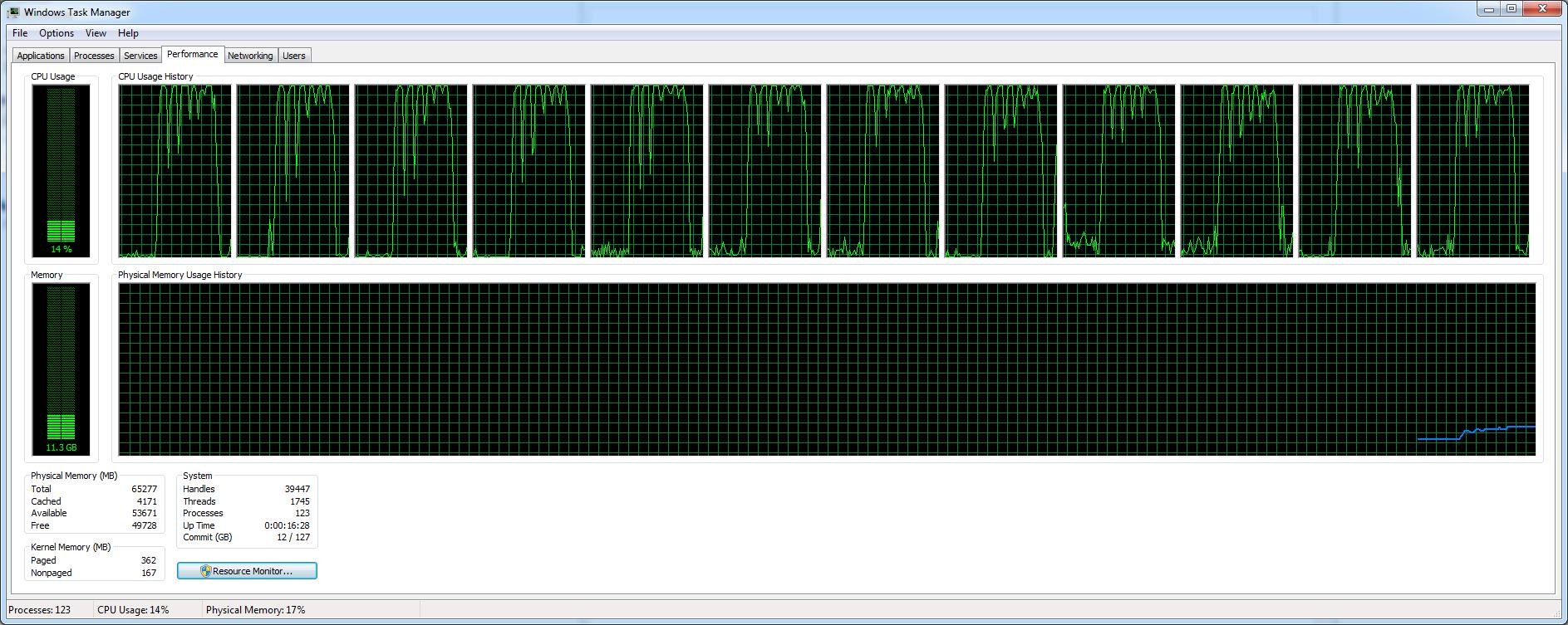 Pillole di Fotografia  LR7.2_Lenovo_ESPORT_TaskManager Nuovo LightRoom v7.2 ... Finalmente un pò di velocità!