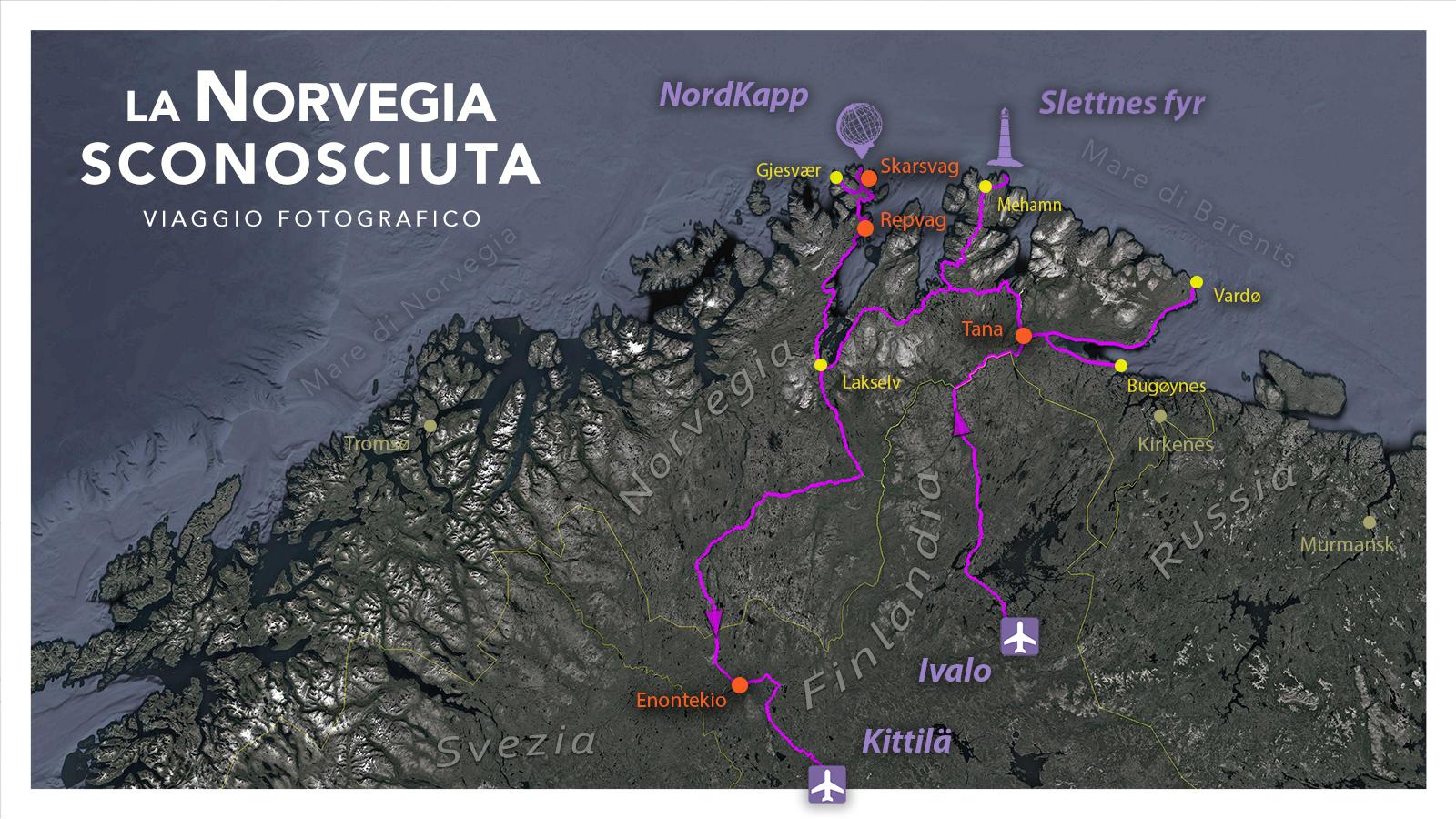 Viaggi di Gruppo  2019_08_FinnMark_mappa_06 [CONCLUSO] LA NORVEGIA SCONOSCIUTA. 1-11 AGOSTO 2019