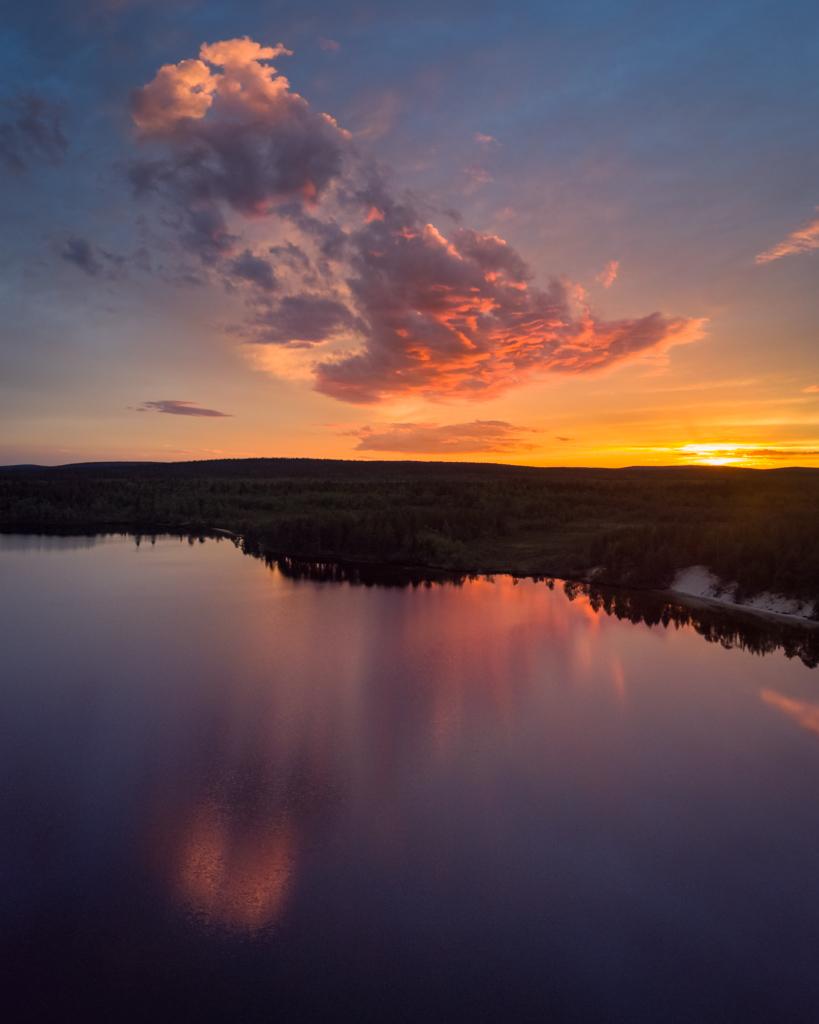 Viaggi di Gruppo  DJI_0524-HDR-Panorama 2-7 Giugno 2021. Il risveglio della Natura. BioWatching in Lapponia con Giulia Bimbi