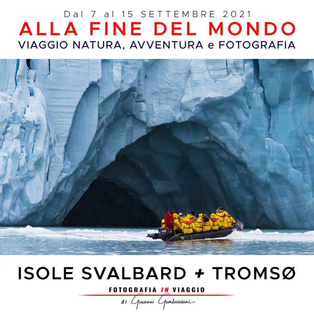 Viaggi di Gruppo  Svalbard21_IG_01A-1024x1024 [CONCLUSO] 28 Agosto, 5 Settembre 2021. Alla Fine del Mondo, con Giulia Bimbi