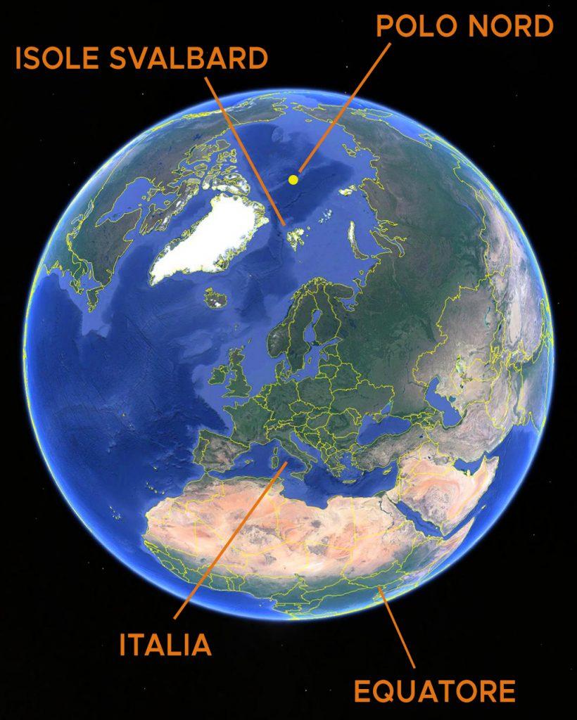 Viaggi di Gruppo  mappamondo_svalbard2-820x1024 [ANTEPRIMA] Giugno 2022. La Natura del Polo Nord